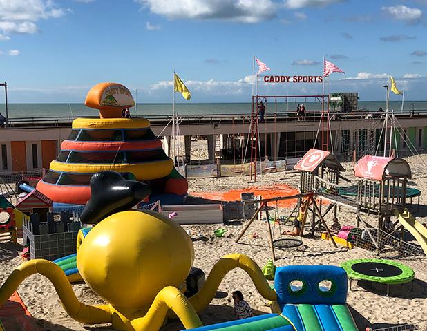 Club de plage au Touquet